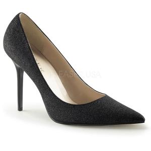 Brilho 10 cm CLASSIQUE-20G Sapatos Scarpin Salto Agulha