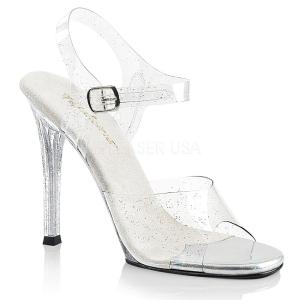 Brilho 11,5 cm Fabulicious GALA-08MMG sandálias de salto alto mulher