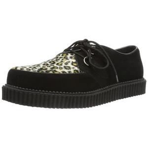 Camurca 2,5 cm CREEPER-600 Creepers Sapatos Homem Plataforma
