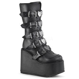 Imitação Couro 14 cm SWING-230 botas cyberpunk plataforma