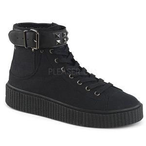 Linho 4 cm SNEEKER-255 sapatos sneakers creepers homem