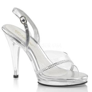 Pedra strass 11,5 cm FLAIR-456 sandálias de salto alto mulher