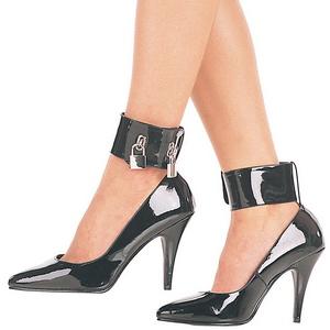 Preto Verniz 10,5 cm VANITY-434 Sapatos Scarpin Femininos