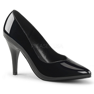 Preto Verniz 10 cm DREAM-420 Sapatos Scarpin Femininos