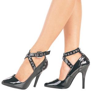 Preto Verniz 13 cm SEDUCE-443 Sapatos Scarpin Femininos