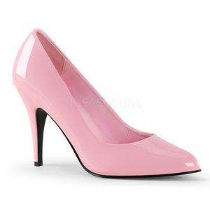 Rosa Verniz 10 cm VANITY-420 Sapatos Scarpin Femininos