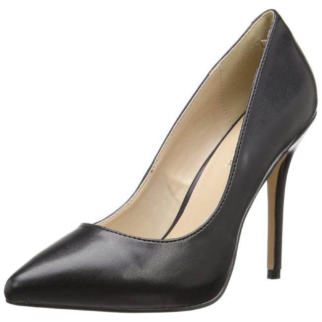 Vermelho Verniz 13 cm AMUSE 20 Sapatos Scarpin Salto Agulha