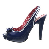 Azul 11,5 cm BETTIE-05 calçados femininos com salto alto