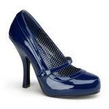 Azul Verniz 12 cm retro vintage CUTIEPIE-02 Sapatos Scarpin Femininos