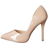 Bege Verniz 13 cm AMUSE-22 classico calçados scarpini
