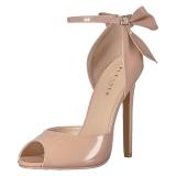 Bege Verniz 13 cm SEXY-16 classico calçados scarpini