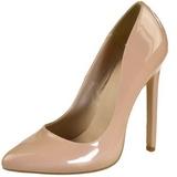Bege Verniz 13 cm SEXY-20 Sapatos Scarpin Femininos