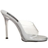 Branco 11,5 cm FABULICIOUS GALA-01 tamancos mulher baixos