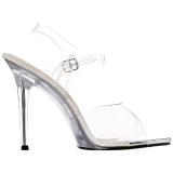 Branco 11,5 cm FABULICIOUS GALA-08 Sandálias para noite de festa