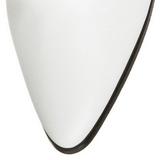 Branco 7 cm VICTORIAN-120 Botinha Mulher Cano Curto com Cadarco
