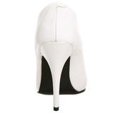 Branco Fosco 13 cm SEDUCE-420 Sapatos Scarpin Femininos