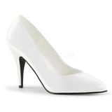 Branco Verniz 10 cm VANITY-420 scarpin de bico fino salto alto