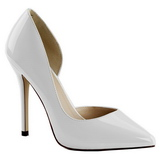 Branco Verniz 13 cm AMUSE-22 classico calçados scarpini