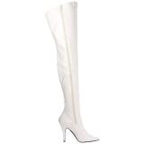 Branco Verniz 13 cm SEDUCE-3000 bota acima do joelho