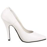 Branco Verniz 13 cm SEDUCE-420 Sapatos Scarpin Femininos