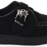 Camurca 2,5 cm CREEPER-605 Creepers Sapatos Homem Plataforma
