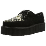 Camurca 5 cm CREEPER-400 Creepers Sapatos Homem Plataforma
