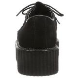 Camurca 5 cm CREEPER-402S Creepers Sapatos Homem Plataforma