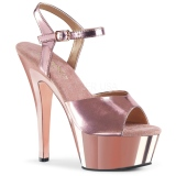 Cobre 15 cm KISS-209 Plataforma Sapatos Salto Alto