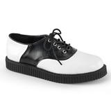 Couro 2,5 cm CREEPER-606 Creepers Sapatos Homem Plataforma