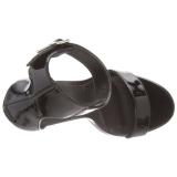 Envernizado 13 cm AMUSE-10 sapatos de travesti