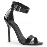 Envernizado 13 cm Pleaser AMUSE-10 sandálias de salto alto mulher