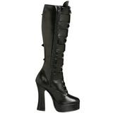 Fosco 13 cm ELECTRA-2042 plataforma botas mulher com fivelas