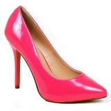 Fucsia Neon 13 cm AMUSE-20 Sapatos Scarpin Salto Agulha