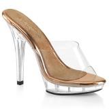 Gold Rosee 13 cm LIP-101 salto alto - sapatos competição de fitness biquíni
