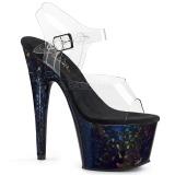 Holograma 18 cm Pleaser ADORE-708HSP sapatos de saltos pole dance