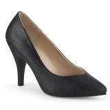 Imitação Couro 10 cm DREAM-420W scarpin pés largos para homem