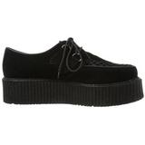 Imitação Couro 5 cm CREEPER-502S Creepers Sapatos Homem Plataforma