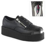 Imitação Couro 5 cm V-CREEPER-510 Creepers Sapatos Homem Plataforma