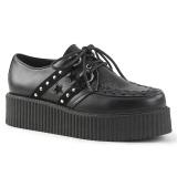 Imitacao Couro 5 cm V-CREEPER-538 Creepers Sapatos Homem Plataforma