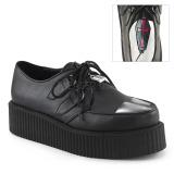 Imitação Couro V-CREEPER-515 Creepers Sapatos Homem Plataforma
