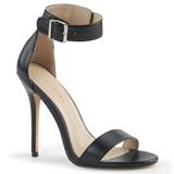 Imitação de couro 13 cm AMUSE-10 sapatos de travesti