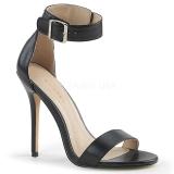 Imitação de couro 13 cm Pleaser AMUSE-10 sandálias de salto alto mulher