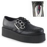 Imitação de couro 5 cm V-CREEPER-516 Creepers Sapatos Homem