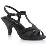 Imitação de couro 8 cm BELLE-322 sapatos de travesti
