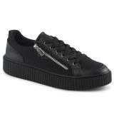 Linho 4 cm SNEEKER-105 sapatos sneakers creepers homem