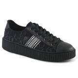 Linho 4 cm SNEEKER-106 sapatos sneakers creepers homem