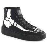 Linho 4 cm SNEEKER-252 sapatos sneakers creepers homem