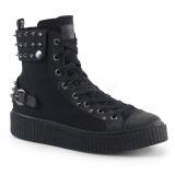 Linho 4 cm SNEEKER-266 sapatos sneakers creepers homem
