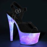Neon 18 cm ADORE-708REFL sapatos de saltos pole dance