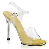 Ouro 11,5 cm FABULICIOUS GALA-08 Sandálias para noite de festa
